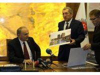 Bakan Özlü'nün katılımı ile TCDD arazileri belediyeye devredildi