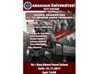 ARÜ'DE Ahıska Sürgünü anma programı düzenlenecek