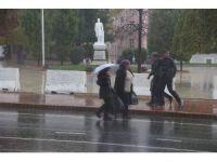 Tekirdağ'da sağanak yağmur