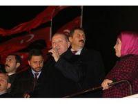 Cumhurbaşkanı Erdoğan, şehit Eren Bülbül'ün ailesini ziyaret etti