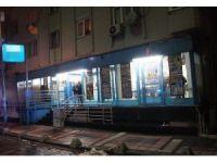 Kağıthane'de bıçaklı market soygunu