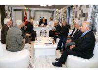 Başkan Kutlu muhtarlar ve kooperatifi başkanlarıyla bir araya geldi