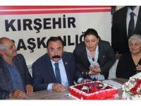CHP Merkez İlçe Başkanlığına Kırşehir'de ilk kadın aday