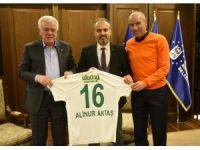 Aktaş'tan Bursaspor'a destek
