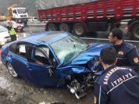 Kahramanmaraş'ta zincirleme kaza: 1 ölü,3 yaralı