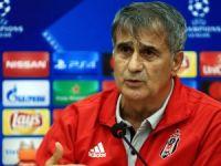 Beşiktaş Teknik Direktörü Güneş: Bizden beklenen sonucu almak istiyoruz