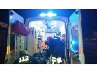 Düzce'de meydana gelen kazada bisiklet sürücüsü yaralandı