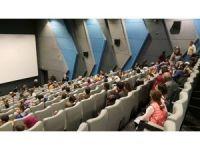 Erganili 280 öğrenci sinema keyfi yaşadı