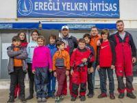 Milli Antrenör minik sporcuları kampa aldı