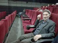 Kore Gazisi 'Ayla' filmini izlerken duygulandı