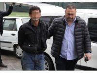 Ayrı yaşadığı karısına fuhuş yaptırdığı iddiasıyla gözaltına alındı