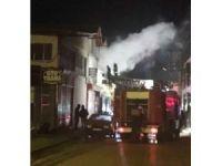 Isparta Yeni Sanayi Sitesi'nde işyeri yangını