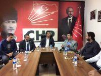 AK Parti ve CHP İl Başkanları Akkaya Barajı sorununu konuştu