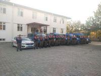 Milas'ta jandarma halkın huzuru için mesai yaptı
