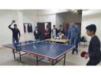 Sincik'te masa tenisi turnuvası yapıldı