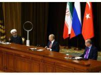 """İran Cumhurbaşkanı Ruhani: """"Bu görüşme Suriyelilerin tekrar ülkelerine dönmesi amacını taşıyor"""""""