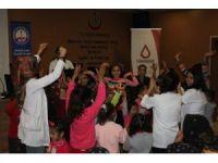 Kan hastası çocuklar gönüllerince eğlendi