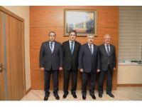Başkan Baran, iki sendika arasındaki görüşmelere katıldı