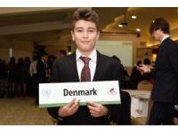 Muğla BİLSEM öğrencileri Model Birleşmiş Milletler Konferansında