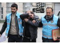 İstanbul'dan çalınıp parçalanan otomobille ilgili 2 gözaltı