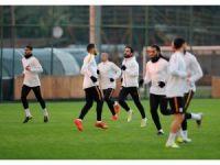 Galatasaray, Aytemiz Alanyaspor maçı hazırlıklarını sürdürdü
