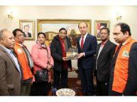 Bangladeş Afet Yönetimi ve Yardım Bakanı Hüseyin Chowdhury Şanlıurfa'da