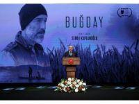 """Cumhurbaşkanı Erdoğan """"Buğday"""" filminin galasına katıldı"""