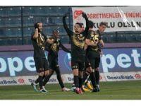 Süper Lig: Osmanlıspor: 1 - Gençlerbirliği: 0 (İlk yarı)