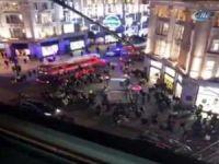 Londra'da metro istasyonunda silah sesleri