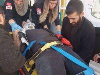 Aksaray'da otomobille çarpışan motosikletin sürücüsü hayatını kaybetti