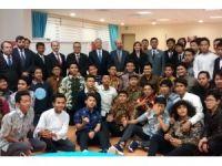 Endonezyalı öğrencilerle tanışma toplantısı