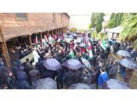 Sinop'ta ABD'nin Kudüs kararı protesto edildi