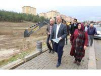 Aktepe'ye kapalı pazaryeri ve sosyal tesis