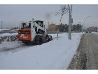 Ağrı'da kar temizleme çalışmaları başladı