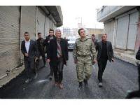 Cizre'de asfaltlama çalışmaları sürüyor