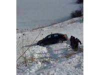 Sarıkamış'ta trafik kazası
