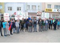 ABD'nin Kudüs'ü kararı Keşan'da protesto edildi