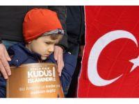 Edirne'de ABD'ye Kudüs tepkisi dinmiyor