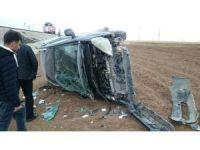 Silopi'de trafik kazası: 1 yaralı