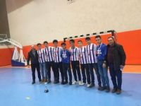 Futsal turnuvasında il 3'sü oldular