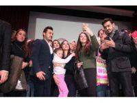 Gazeteci Nazlı Çelik, Hatay'da üniversiteli öğrencilerle bir araya geldi