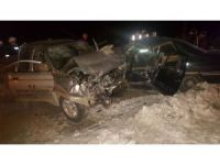 Trabzon'da trafik kazası: 2 ölü, 5 yaralı