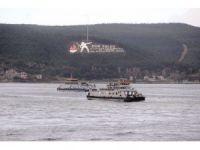 Çanakkale Boğazı fırtına nedeniyle gemi geçişlerine kapatıldı