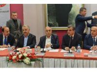 Ulaştırma Bakanı Aslan ve Tarım Bakanı Fakıbaba STK temsilcileriyle bir araya geliyor