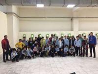 Diyarbakırlı milli atıcıya minik öğrencilerden ziyaret
