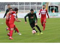TFF 1. Lig: Denizlispor: 0 - Samsunspor: 0