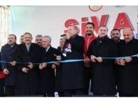Cumhurbaşkanı Erdoğan, Sivas'ta (2)