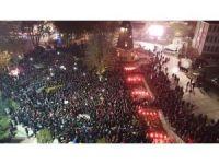 Malatya'da binlerce vatandaş Kudüs için yürüdü
