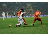Süper Lig: Kayserispor: 1 - Beşiktaş: 1 (Maç sonucu)