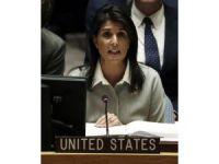 """ABD'nin BM Büyükelçisi Haley: """"Trump bile olsa, tacize uğrayan kadınlar özgürce konuşabilmeli"""""""